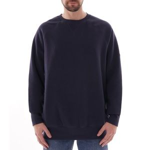 Sweaters - Basic navy crew neck medium great to Bleach Gildan